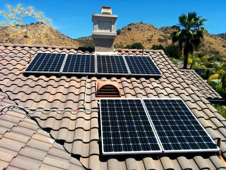 Ricketts Residence Solar Installation